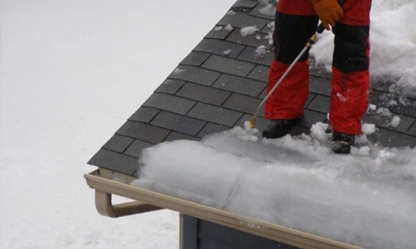 Ice Dam Melting Arbor Master Mason City Ia